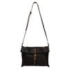 Dark brown Mimi leather shoulder bag