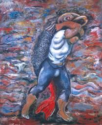 Sandro Chia, Water Bearer, 1981