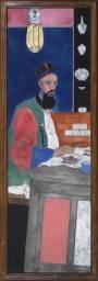 R.B. Kitaj, The Orientalist, 1976-7