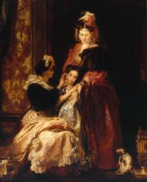 Sir David Wilkie, The First Ear-Ring, 1834-5, exhibited 1835