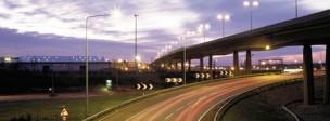 motorway twilight