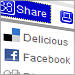 close-up of share features