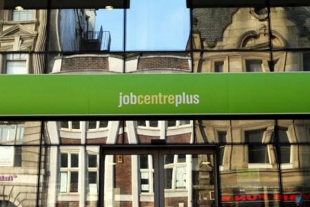 a jobcentre sign - credit AP Scott Heppell