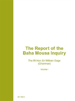 Report front page Vol I