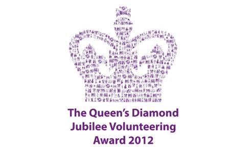 Queen's Diamond Jubilee Volunteering Awards 2012 logo