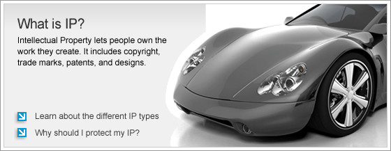 What is IP? Intellectual property lets people own the work they create. It includes copyright, trade marks, patents, and designs.