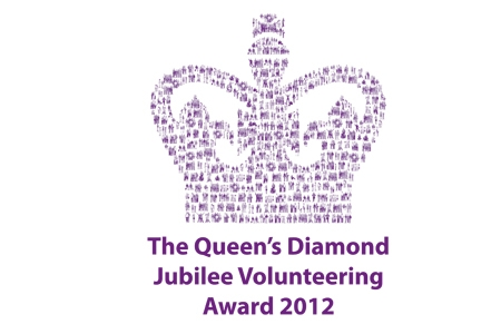 Queen's Diamond Jubilee Volunteering Awards 2012 logo