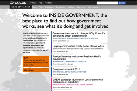 Inside government screen grab