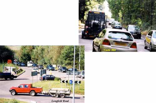 images of Castle Hill and Longfield Road