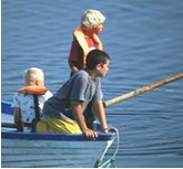 Kids in a Boat