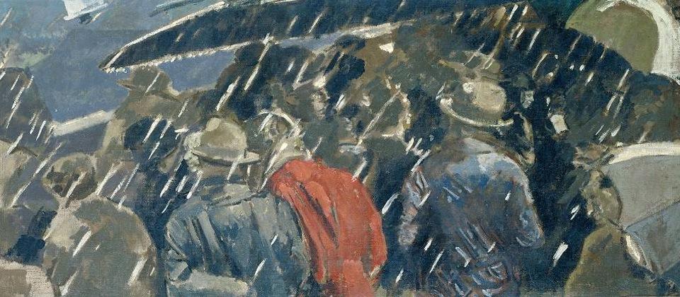 Miss Earhart's Arrival by Walter Sickert