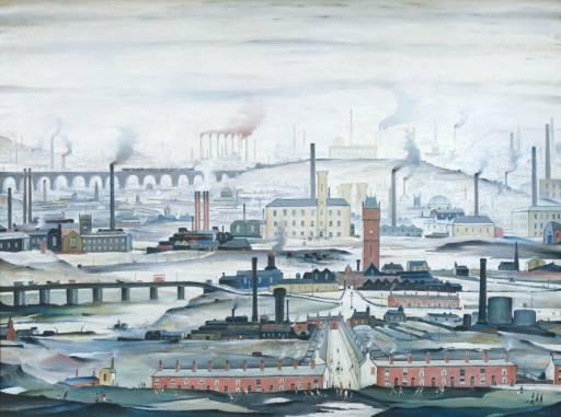 L.S. Lowry, 'Industrial Landscape' 1955