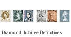 Diamond Jubilee Definitives