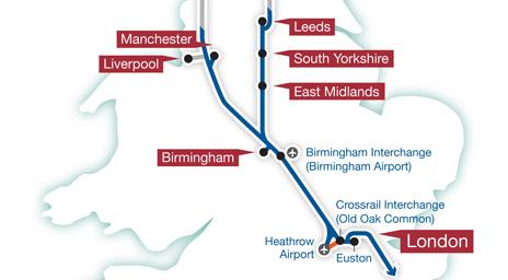 HS2 maps
