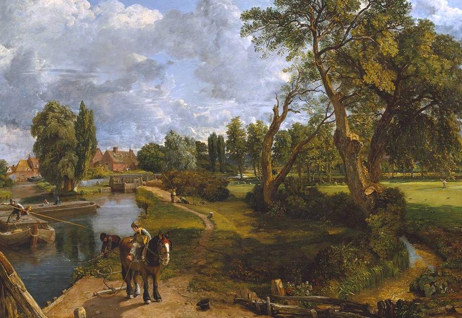 John Constable - Flatford Mill ('Scene on a Navigable River')