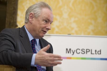 Francis Maude at a MyCSP event. Photo: Crown copyright.