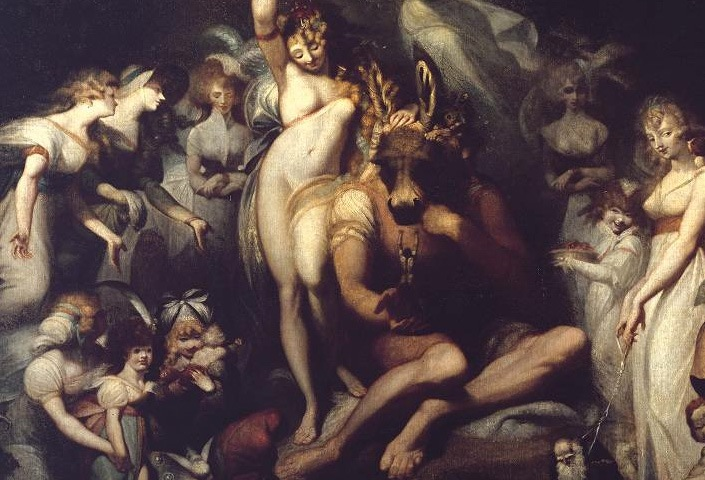 Work of the Week: Henry Fuseli, Titania and Bottom
