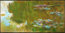 claude monet the water lily pond