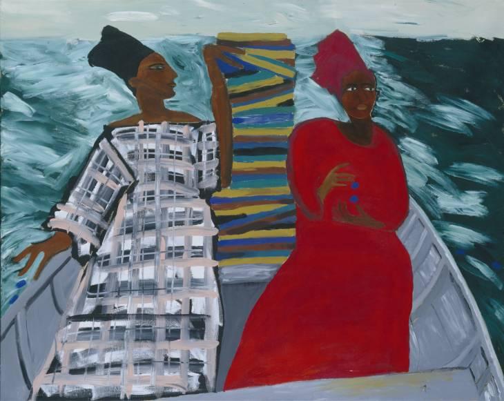 Lubaina Himid, 'Between the Two my Heart is Balanced' 1991