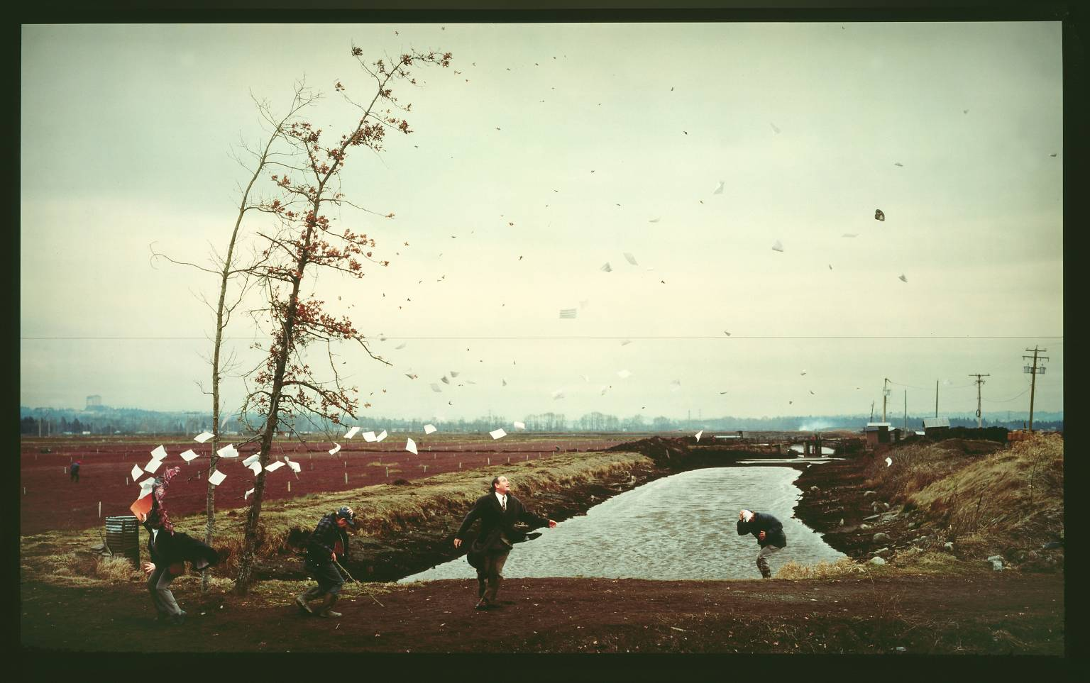 Jeff Wall, 'A Sudden Gust of Wind (after Hokusai)' 1993