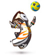 volleyball mascot