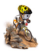 cycling-mountain-bike mascot