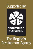 Supported by Yorkshire Forward The Region's Development Agency (Logo)