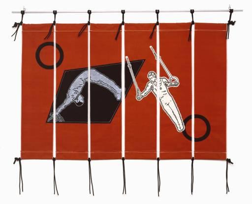 John Dugger, 'Sports Banner' 1980