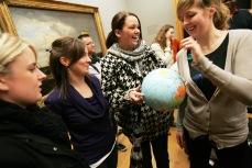 Teachers at an inset day at Tate Britain