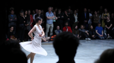 Film still from Fase: Four Movements to the Music of Steve Reich by Anne Teresa de Keersmaeker