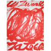 Cy Twombly screen print