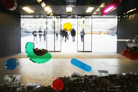 Donation box at Tate Modern