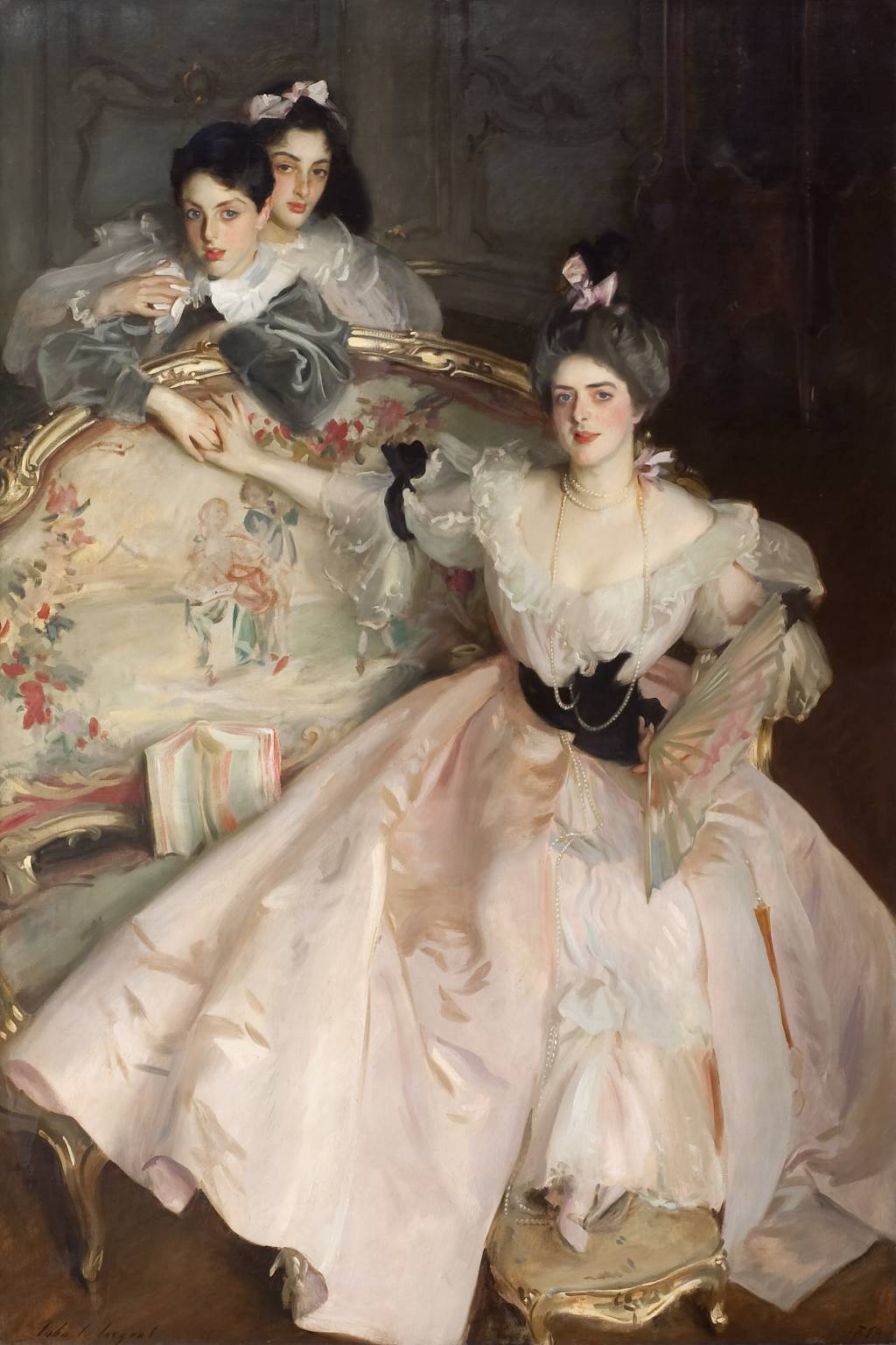 John Singer Sargent, 'Mrs Carl Meyer and her Children' 1896