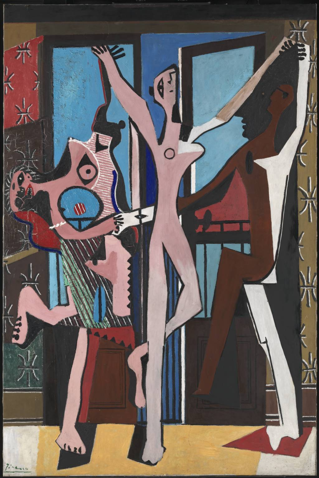 Pablo Picasso, 'The Three Dancers' 1925