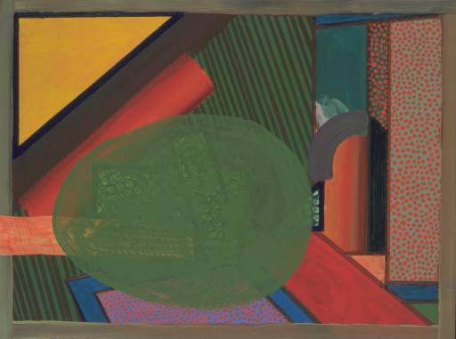 Howard Hodgkin, 'Mr and Mrs E.J.P.' 1969-73