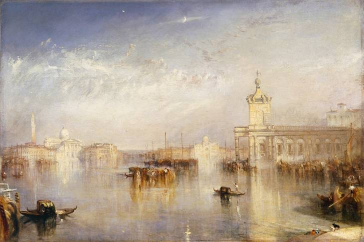 Joseph Mallord William Turner, 'The Dogano, San Giorgio, Citella, from the Steps of the Europa' exhibited 1842