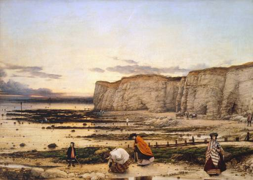 William Dyce, 'Pegwell Bay, Kent - a Recollection of October 5th 1858' ?1858-60