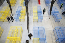 The Unilever Series: Dominique Gonzalez-Foerster TH 2058 2008 in the Turbine Hall at Tate Modern