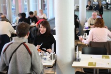 Diners in the Café at Tate Liverpool
