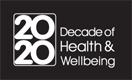 2020 Decade of Health and Wellbeing logo