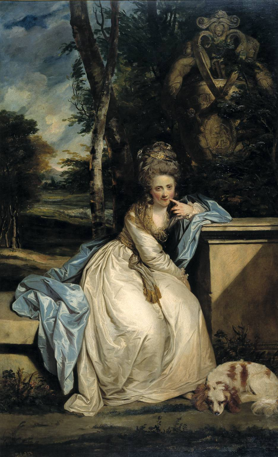 Sir Joshua Reynolds, 'The Hon. Miss Monckton' 1777-8
