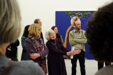 A guided tour of an exhibition at Tate St Ives