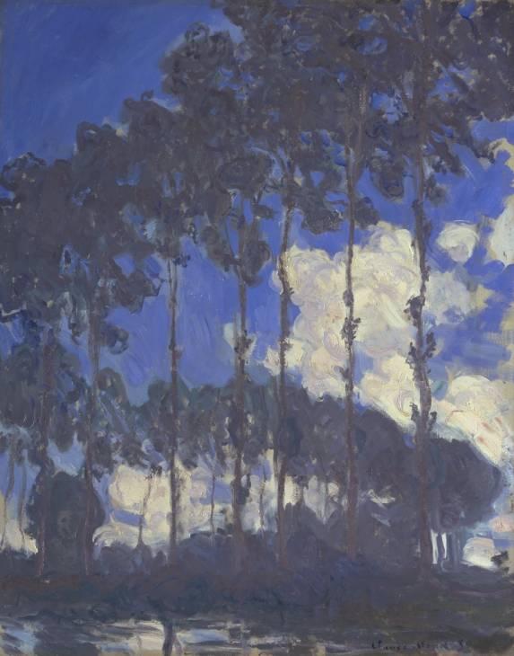 Claude Monet, 'Poplars on the Epte' 1891