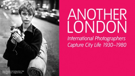 Another London exhibition banner