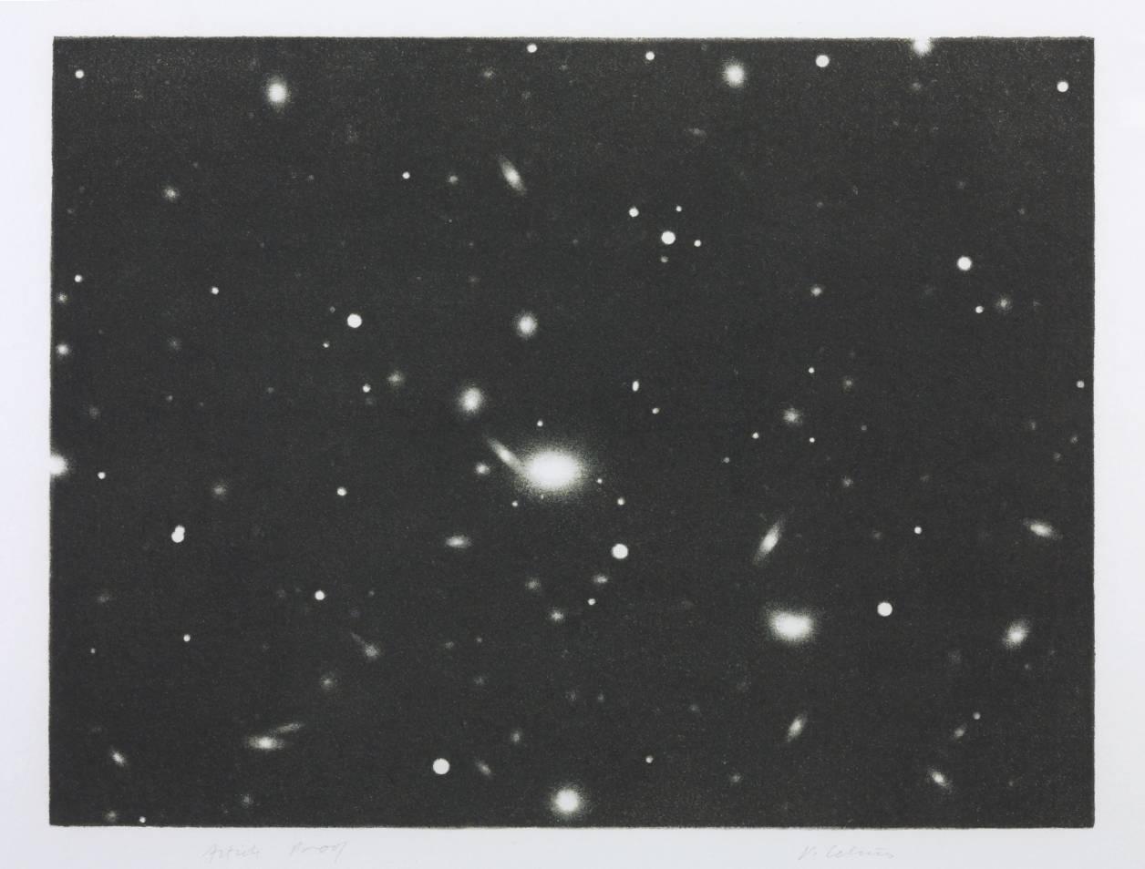 Vija Celmins, 'Galaxy' 1975