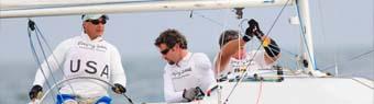 Paralympic sailors