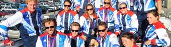 Olympic sailors Team GB