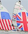 Nick Scandone and Maureen Mckinnon-Tucker of the USA chase Niki Birrel and Alexandra Rickham of Great Britain: Link to