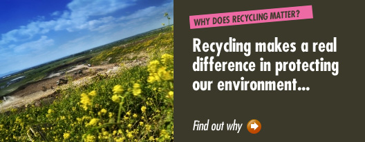 Why recycling matters © WRAP