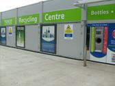 Picture of automated recycling units found at 100 Tesco UK stores.